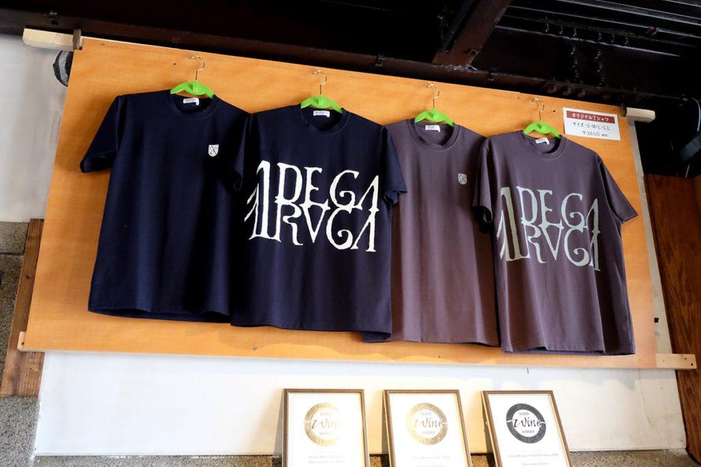 Tシャツも販売しています。