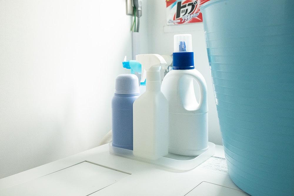 ちなみに洗剤のパッケージは全て剥がしてから使うそうです。剥がすことで生活感が和らぐとか。(詰め替え用も合わせて買っているので詳細を知りたいときはこちらで確認)これもお部屋をスッキリ見せるテクニックなんですね。
