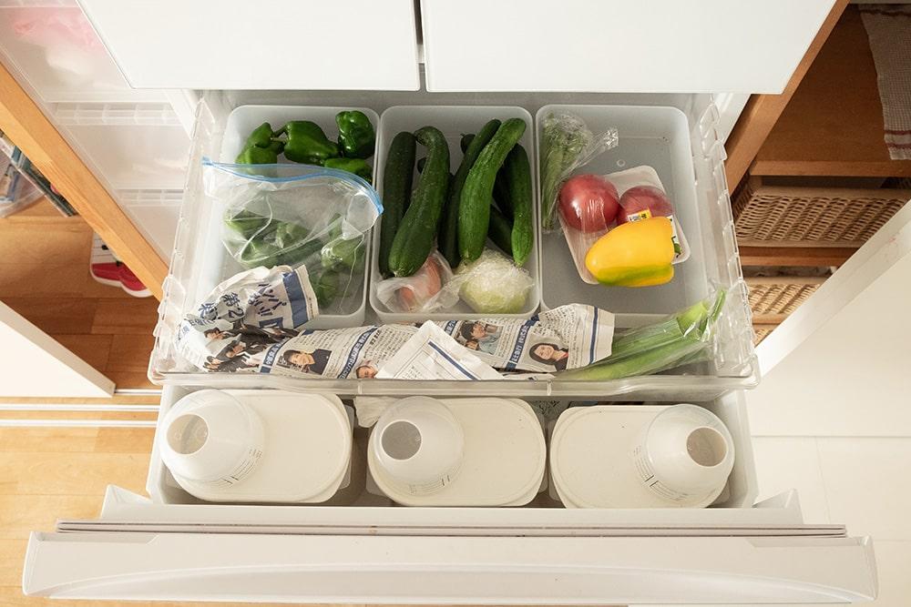 冷凍庫って、つい、いろんなものを押し込みがちですよね。中がパンパンで奥のものを取り出すのに毎回引っ掻き回したり。