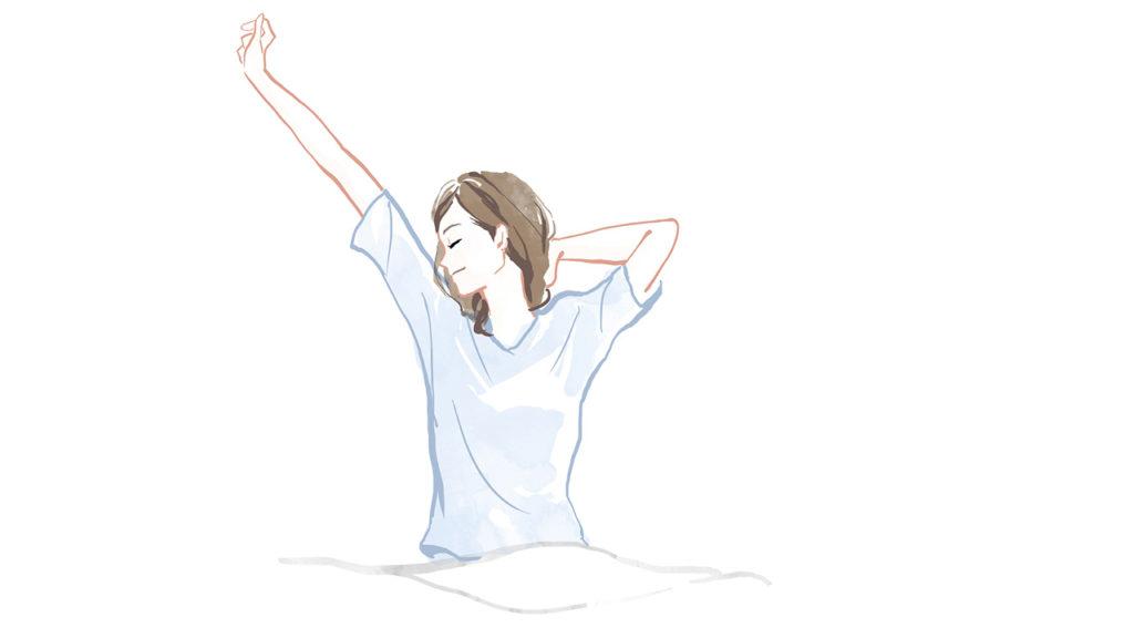 朝にお味噌汁を摂取すると、良質な睡眠をサポートするメラトニンというホルモンが、お味噌汁に含有されているトリプトファンによって安定して分泌され、ツライ不眠症を改善・予防できる効果があります