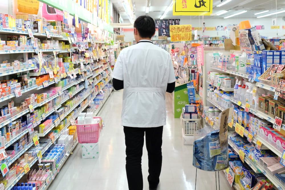 専務は店舗の一角へと私を案内してくれました。どうやら、このあたりの様子ですね。
