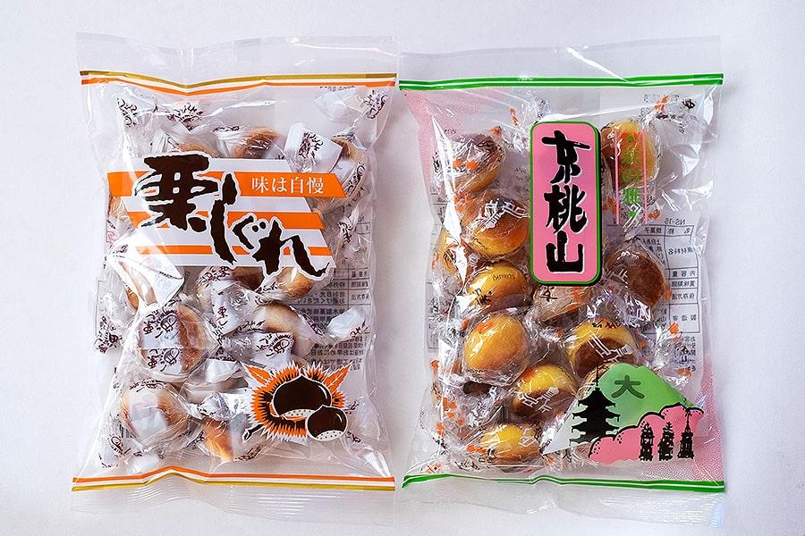 また京都でも『栗しぐれ』と『京桃山』を販売していますが、他の地域に比べて京都は『京桃山』の売れる割合が多いですね。